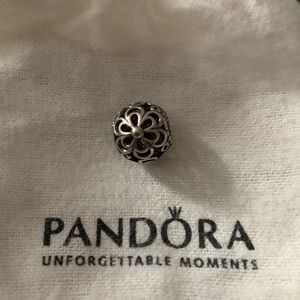 Flower Pandora Charm